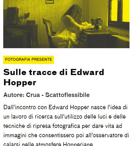 Il nostro progetto su Hopper pubblicato su Lamoleancona.it